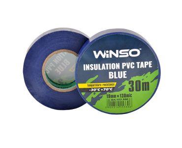 - Изолента Winso ПВХ синяя 30м/19мм -