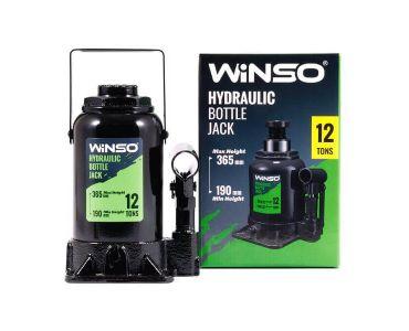 - Домкрат гидравлический бутылочный Winso 170130 12т 190-365мм -