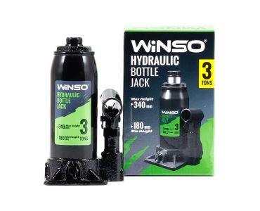 - Домкрат гидравлический бутылочный WINSO 170300 3т 180-340мм -