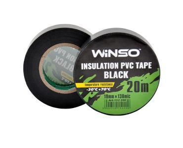 - Изолента Winso ПВХ черная 20м / 19 мм -