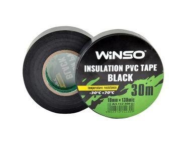- Изолента Winso ПВХ черная 30м /19 мм -